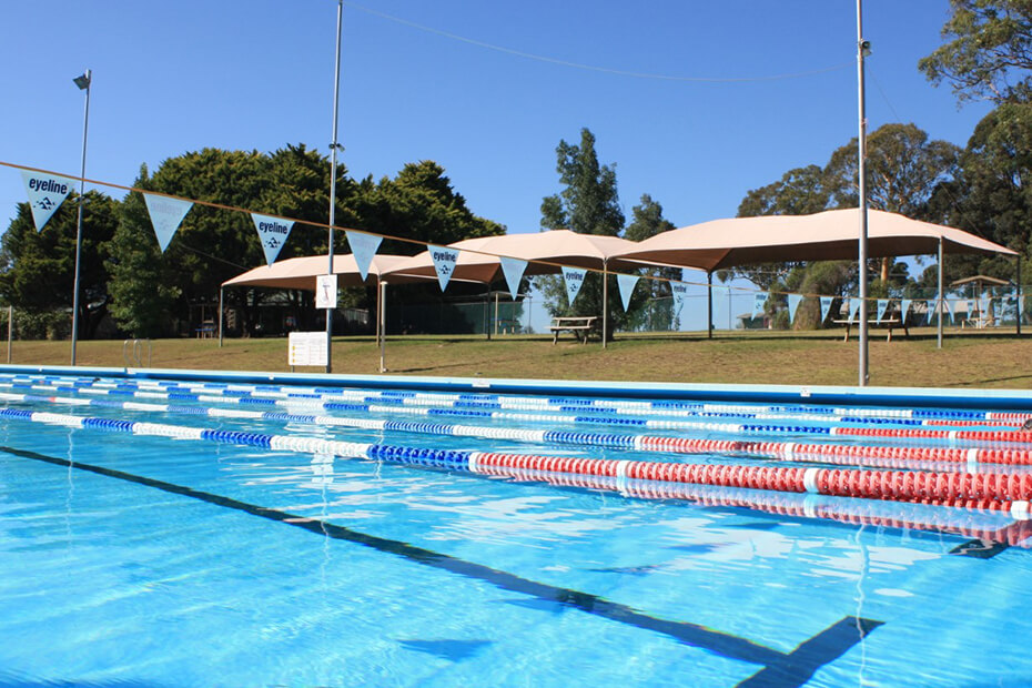 External photo of Bomaderry Aquatic Centre pool