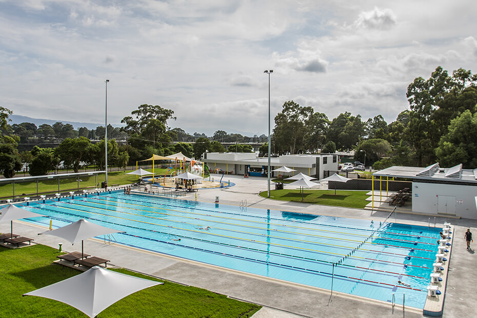 External photo of Nowra Aquatic Park