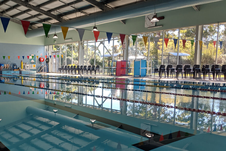 Internal photo of Sussex Inlet Aquatic Centre pool