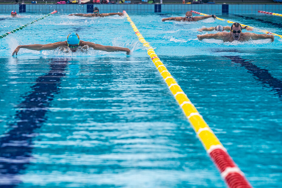 Image of squad swimmers