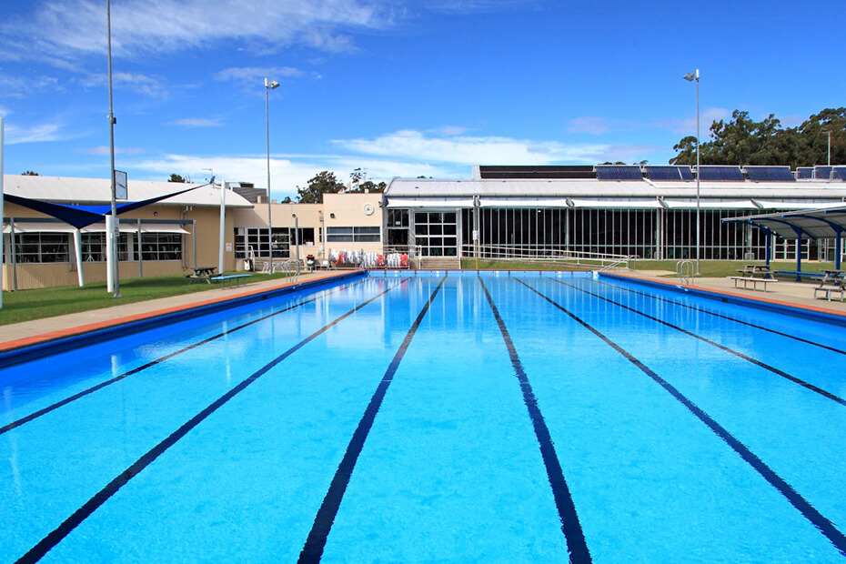 External photo of Ulladulla Leisure Centre pool