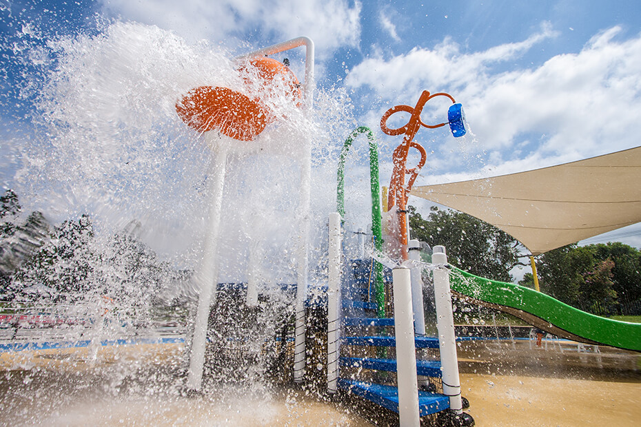 Splash Play Park at Nowra Aquatic Park